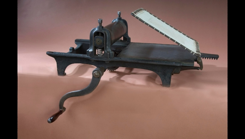 Adams Cottage Press No. 4, patented 1861
