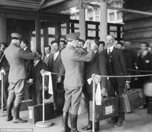 1920s Immigrant Health Inspectors, Ellis Island