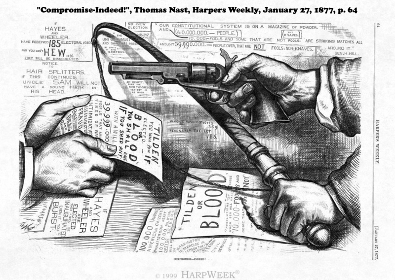 Compromise of 1877 illustration