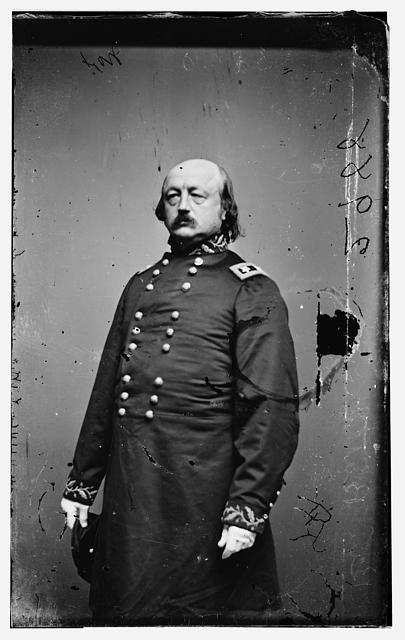 Photograph of Major General Benjamin Butler