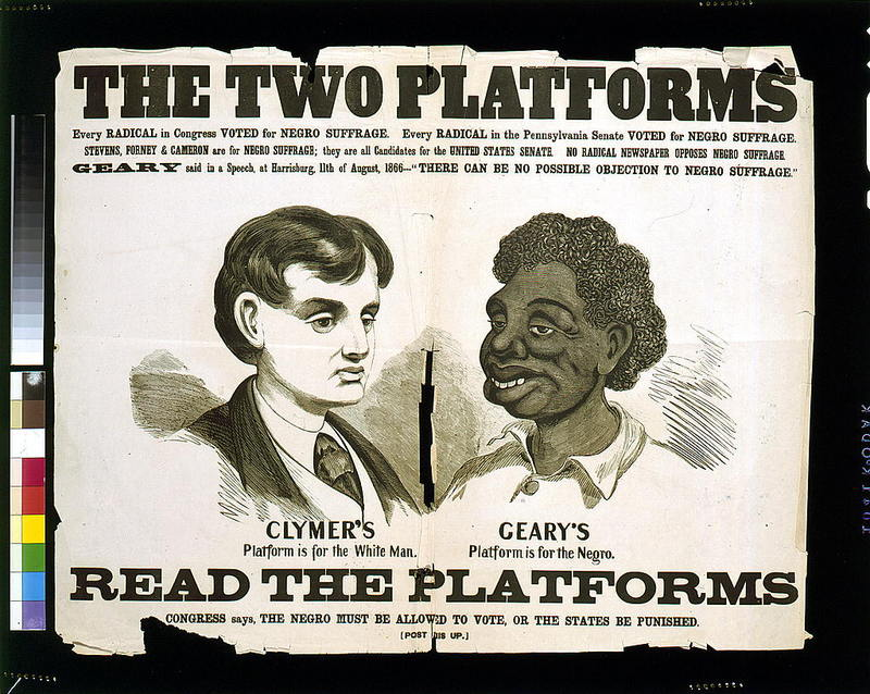 Two Platforms of Jim Crow