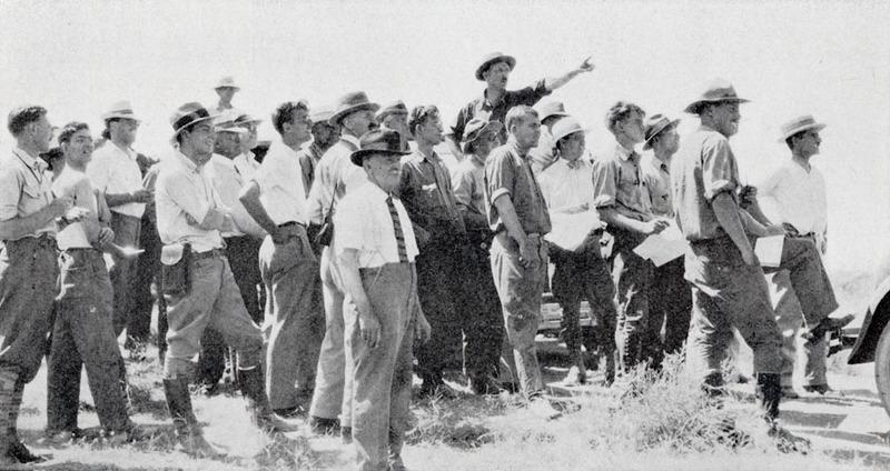 Photograph of Bretz expedition from Intermountain Motorist