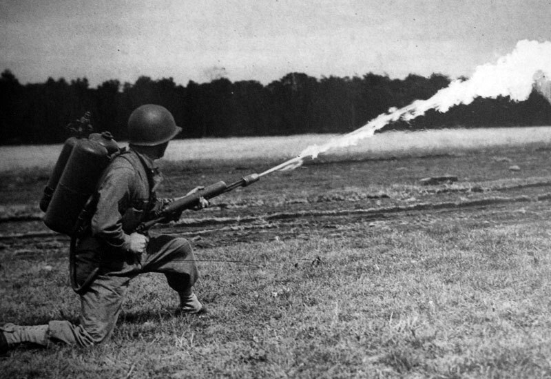 WW1 Flamethrower