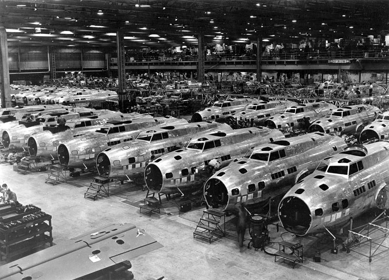 B-17 Production, Boeing Seattle