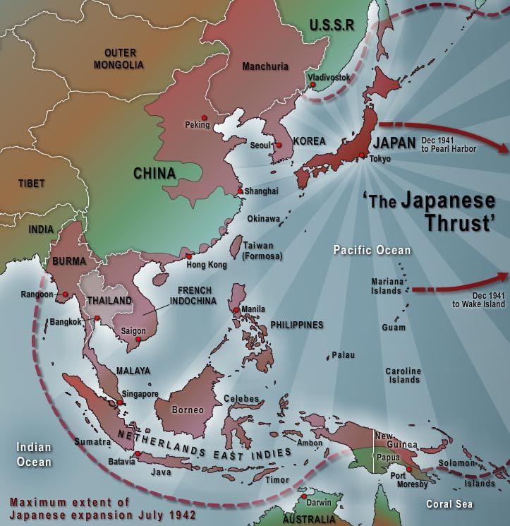 Japanese Expansion Through China