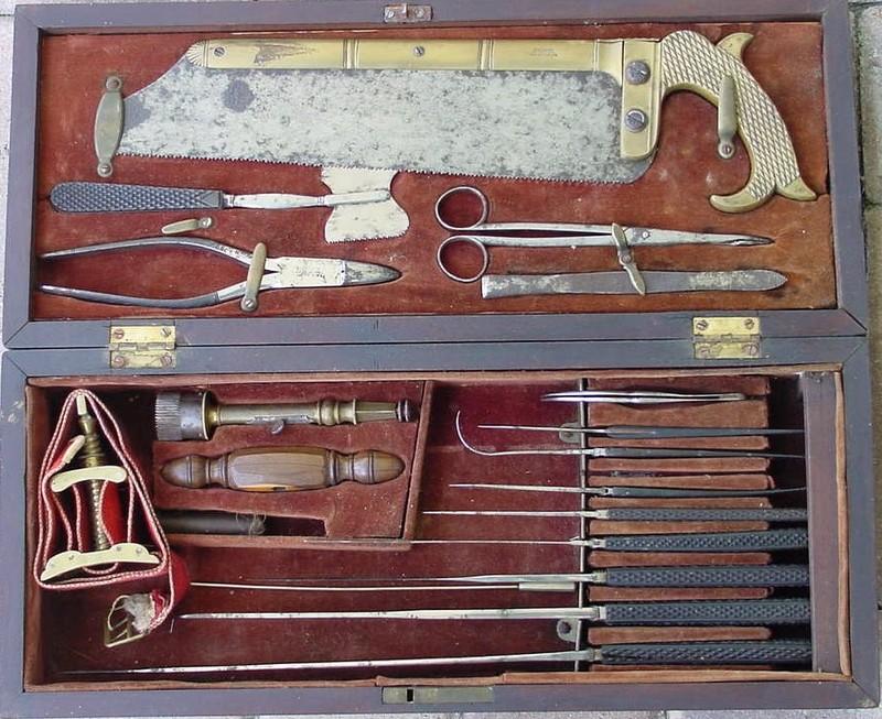 Civil War amputation kit