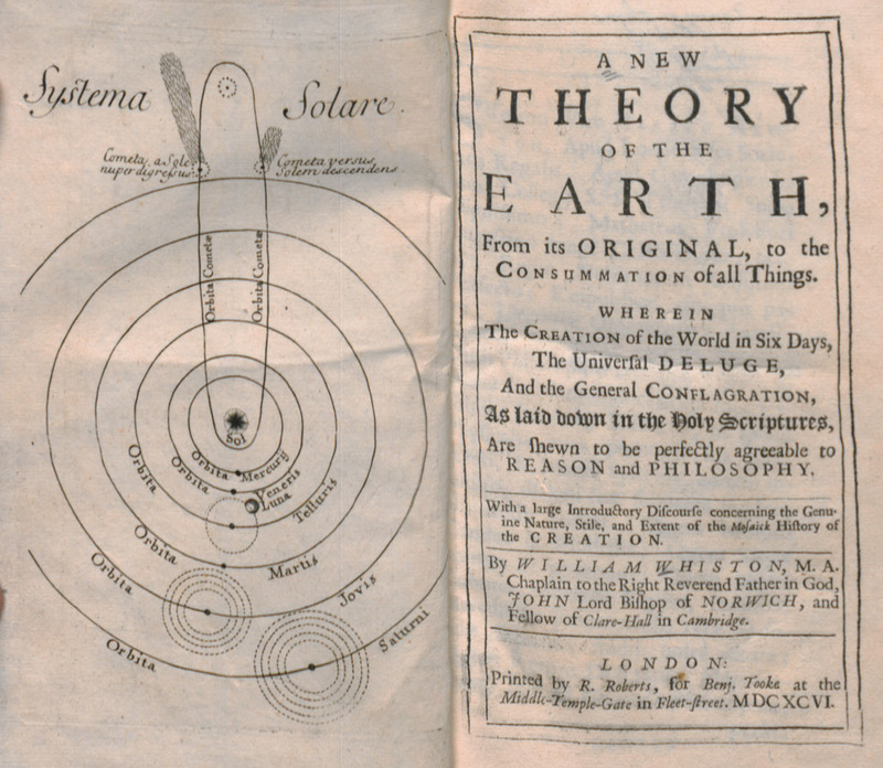 Theory of the Earth title page