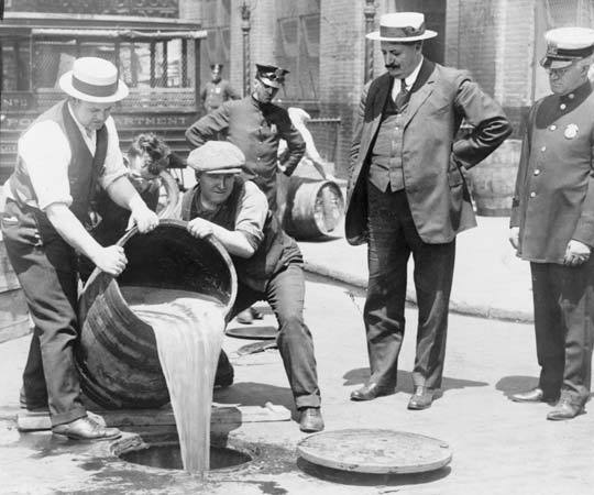 Prohibition in Action