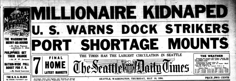 Seattle Times Port Shortage due to strike