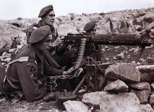 WW1 Machine Gun