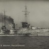 S.M.S. Blucher postcard<br />