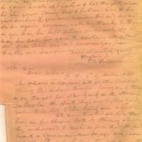 Captain E.W. Fuller letter to Mary Fuller, letter 2, page 1