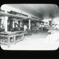 Carpenter Shop at Chemawa