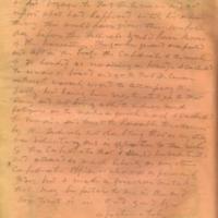 Captain E.W. Fuller letter to Mary Fuller, letter 2, page 4