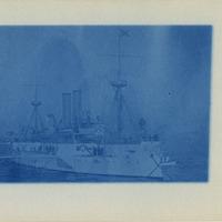 U.S.S. Maine postcard