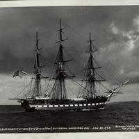 U.S.S. Constitution postcard