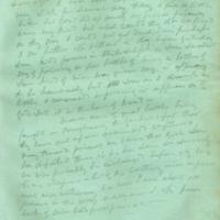 Captain E.W. Fuller letter to Mary Fuller, letter 7, page 1