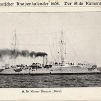 S.M.S. Hela postcard<br />