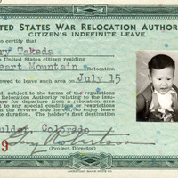 Terry Takeda's indefinite leave card