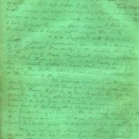 Captain E.W. Fuller letter to Mary Fuller, letter 1, page 2