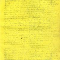Captain E.W. Fuller letter to Mary Fuller, letter 5, page 1