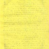 Captain E.W. Fuller letter to Mary Fuller, letter 4, page 1