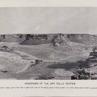 Panorama of the Dry Falls System