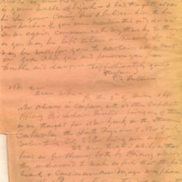 Captain E.W. Fuller letter to Mary Fuller, letter 1, page 3