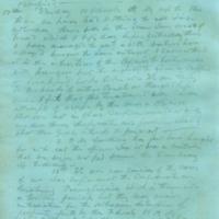 Captain E.W. Fuller letter to Mary Fuller, letter 4, page 4