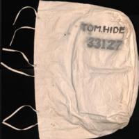 Bag used by Tom Hide.