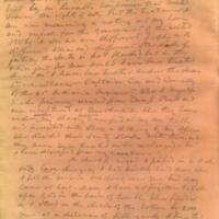 Captain E.W. Fuller letter to Mary Fuller, letter 3, page 4