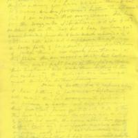 Captain E.W. Fuller letter to Mary Fuller, letter 4, page 2