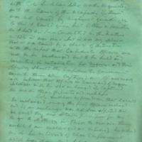 Captain E.W. Fuller letter to Mary Fuller, letter 3, page 2