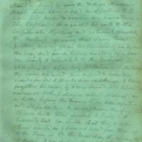 Captain E.W. Fuller letter to Mary Fuller, letter 3, page 1