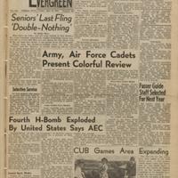 Evergreen, 1954-05-14 pg 1