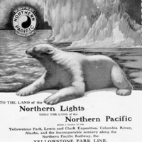Northern Pacific Advertisement