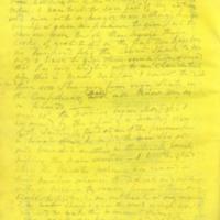 Captain E.W. Fuller letter to Mary Fuller, letter 5, page 2