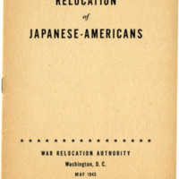 Relocation of Japanese Americans