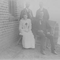 College Record Staff ca 1892