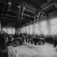 Mechanical Laboratory Wood Room 1898