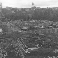 Bohler Gym Construction May 25, 1927