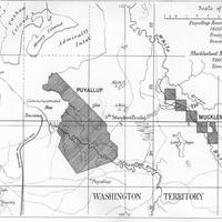 Puyallup Reserve (Nisqually Agency) ; Muckleshoot Reserve (Tulalip Agency), (1879)