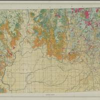 Forest type map, state of Washington, NE sheet (1936)