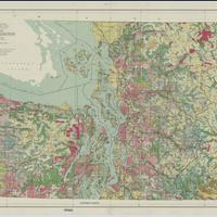 Forest type map, state of Washington, NW sheet (1936)