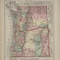 Oregon and Washington, (1874)