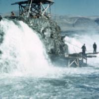 Precarious fishing spot.