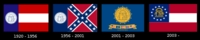 Georgia State Flag chronology